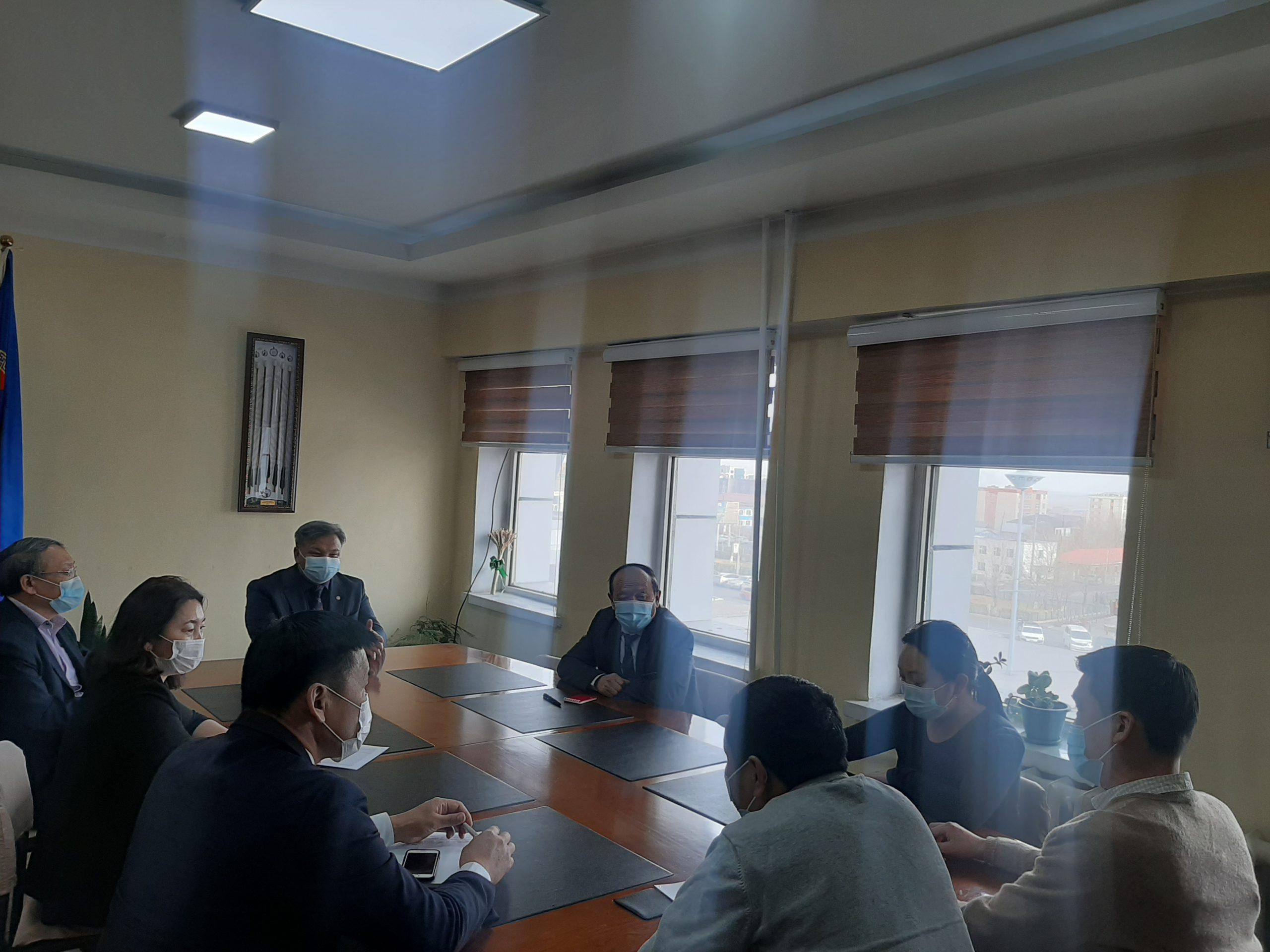 Өвөрхангай аймаг дахь Төрийн аудитын газар: Хөдөлмөр эрхлэлтийг дэмжих сангийн аудитын нээлтийг зохион байгууллаа.