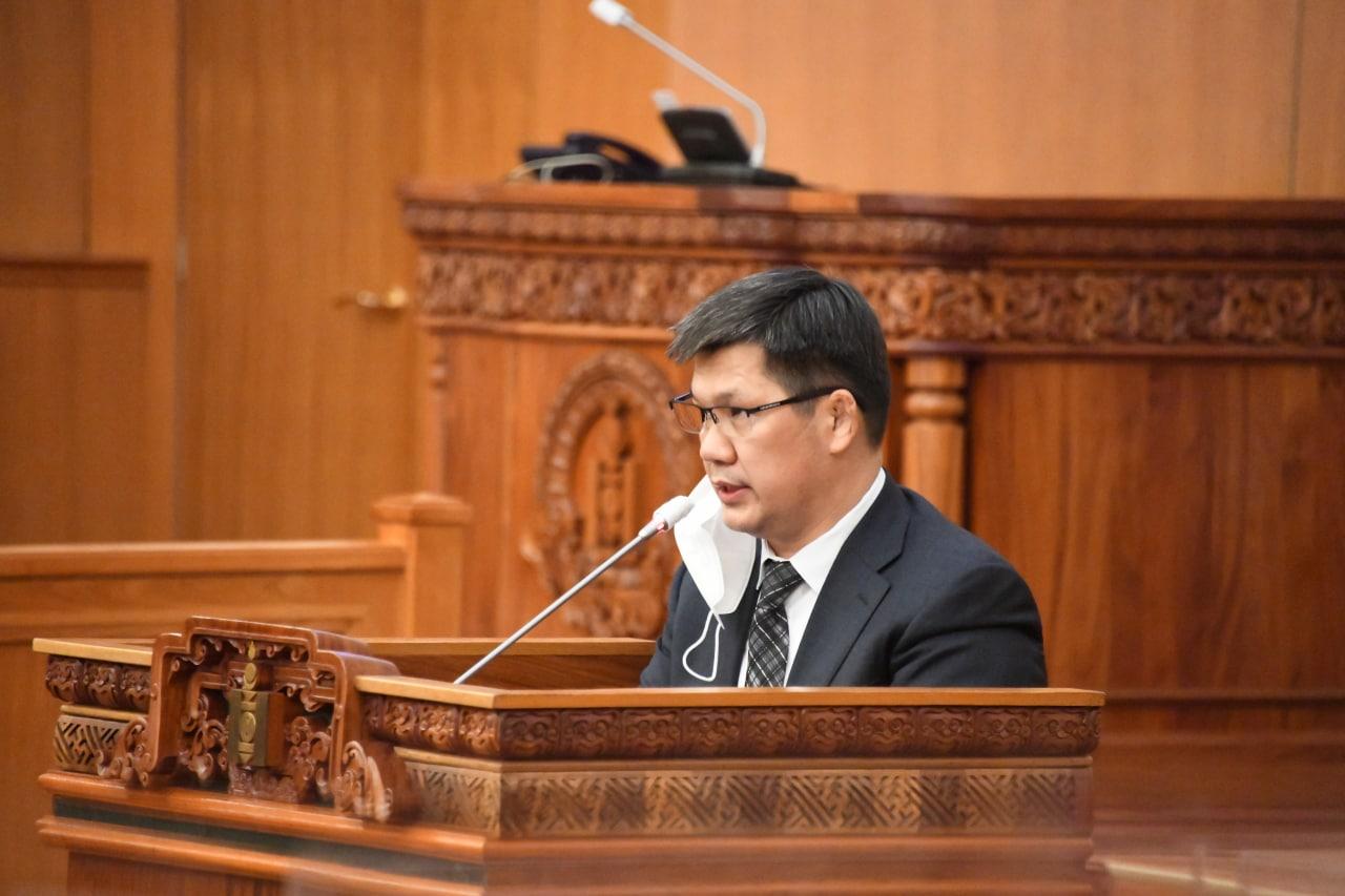 """""""Монгол Улсын 2020 оны төсвийн гүйцэтгэл батлах тухай"""" УИХ-ын тогтоолын төслийн нэг дэх хэлэлцүүлгийг хийлээ"""
