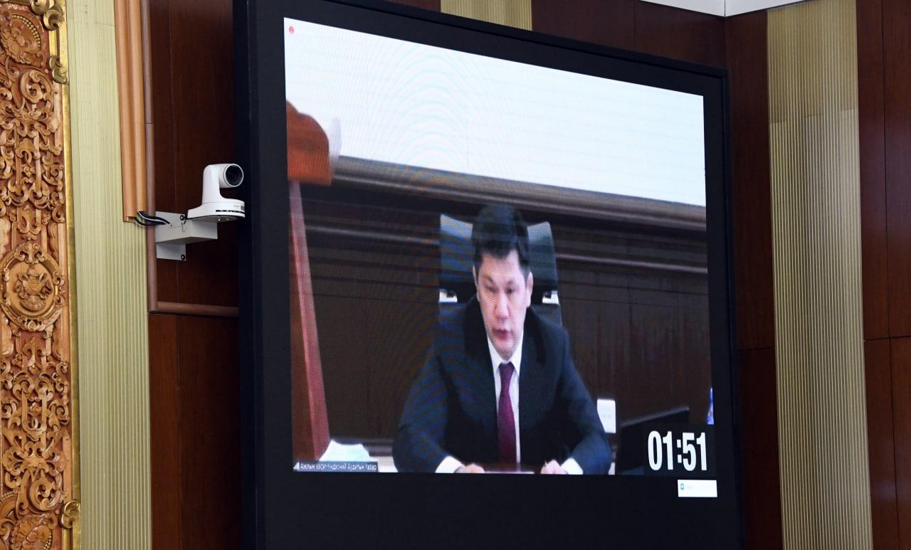 """""""Монгол Улсын 2020 оны төсвийн гүйцэтгэлийг батлах тухай"""" УИХ-ын тогтоолын төслийн хоёр дахь хэлэлцүүлгийг дэмжлээ"""