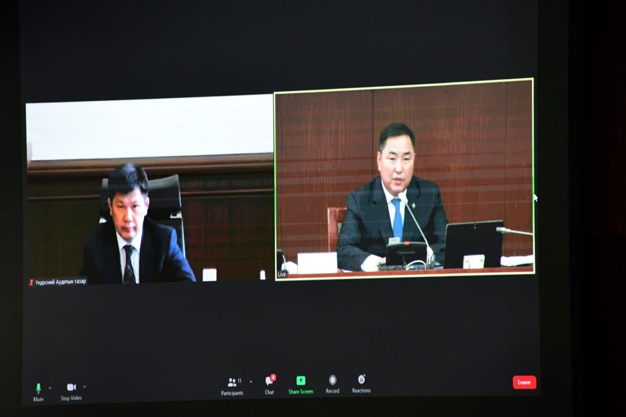 """Төсвийн зарлагын хяналтын дэд хороо """"Монгол Улсын 2020 оны төсвийн гүйцэтгэлийг батлах тухай"""" УИХ-ын тогтоолын төслийг хэлэлцэв"""